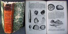 Cours d'Histoire Naturelle & Minéralogie/ Jussieu, Beudant et Milne-Edw.. / 1851