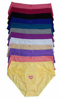 Pack LOT Full Coverage Girdle Briefs Tummy LIGHT Control High Waist Panty S-XL