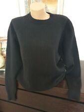 Ladies Black Pure Cashmere Jumper Size XL