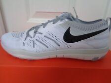 Nike Free TR FOCUS Flyknit Scarpe Da Ginnastica da Donna 844817 100 UK 6 EU 40 US 8.5 Nuovo Scatola