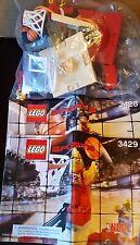 LEGO NBA  3428 3429 COMPLETE SET with MINIFIGURES BASKETBALL