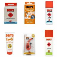 Ben's Insect Repellent | European Strength Poison Extractor Family | Full Range