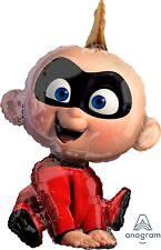 "Incredibles 2 Jack Jack 1x Birthday Jumbo 32"" inch SuperShape Foil Mylar Balloon"