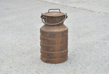 Vintage old steel milk churn milkchurn milking pot 15L - Free Delivery