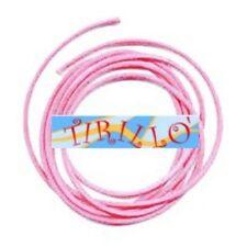 BIGIOTTERIA PERLINE - 20 metri filo cerato rosa -0,5 mm
