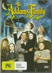 The Addams Family DVD Anjelica Huston New and Sealed Australia