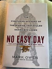 No Easy Day: The Autobiography of a Navy Seal, Mark Owen w/Kevin Maurer-HCDJ