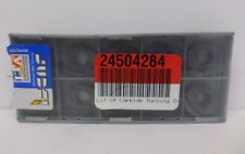"""Iscar 5604297 Carbide Turning Inserts, 0.26"""" A, 0.13"""" T, 0.61"""" W - Lot of 10 NOS"""