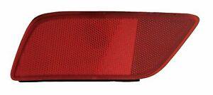 fit SUBARU FORESTER 2019-2020 LEFT DRIVER REAR BUMPER REFLECTOR LIGHT LAMP