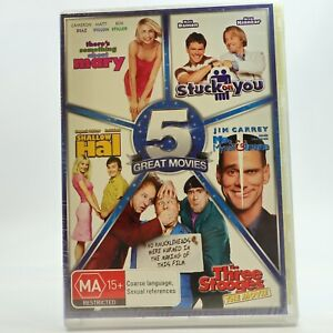 5 Great Movies There's something to Mary Stuck on You Shallow Hal DVD R4 GC