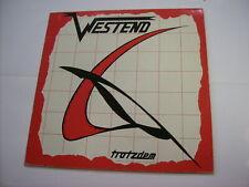 WESTEND - TROTZDEM - LP VINYL EXCELLENT CONDITION 1982