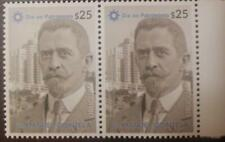 A) 2020, URUGUAY, HERITAGE DAY, MNH, DR MANUEL QUINTELA, BLOCK OF 2