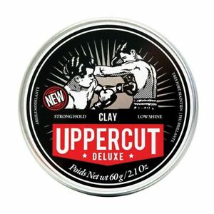 Uppercut Deluxe Matte Clay Styling Product for Men, Low Shine Natural Finish 60g