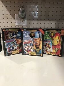 Marvel Famous Covers (1998) Lot of 3 - Iron Man, Thor,  Captain America New