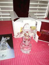 *Swarovski Scs Retired Crystal 2000 Masquerade Columbine w/Plaque & Stand & Coa