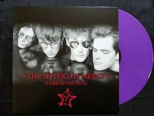 SISTERS OF MERCY FIRE IN THE HULL ULTRA RARE PURPLE TEST VINYL LP