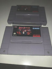 SNES Brawl Brothers Cartridge Only Authentic Super Nintendo Authentic Tested
