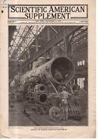 1919 Scientific American Supp December 13 - Disabled locomotives; Future engines