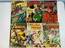 Lot Of Bronze Age Marvel And Dc Comics