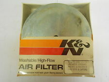 SUZUKI RM370 B RM 370 (76-) K&N AIR FILTER STOCK REPLACEMENT WASHABLE K AND N