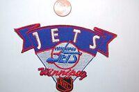"Winnipeg Jets 4"" Retro Vintage Banner Logo Patch Hockey"