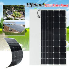 120W 12V Elfeland A-Class Semi Flexible Solar Panel Battery Charger For RV Boat