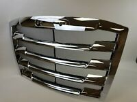 Fits Freightliner Cascadia 2018 2019 2020 Front Radiator Grille Grill Chrome