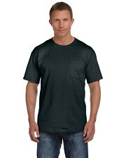Fruit Of The Loom Mens HD Cotton T Shirt 100% Cotton With Pocket Tee S-3XL 3931P