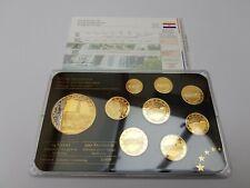 9 Different Euro coins Prestige Set Excellent Condition Specimen Trial Croatia