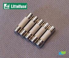 LITTELFUSE, P/N: 0215002.MXP Slow Blow, 2A 250V, 5 X 20mm Ceramic Fuse, 5pcs.