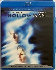 HOLLOW MAN DIRECTORS CUT BLU RAY RARE OOP FREE WORLD WIDE SHIPPING BUY IT NOW