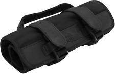Burly Brand Black Zipper Buckle Cordura Textile Universal Motorcycle Tool Bag