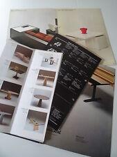 Möbel italienisches Design Marcatre Prospekt Katalog Messekatalog 80er Jahre