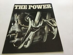 BSA 1971 FURY & Range. MOTORCYCLE SALES BROCHURE. ORIGINAL