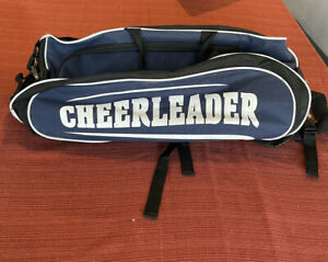 Chasse Cheer Large Blue & Black Cheerleader chasse  sports bag/backpack.