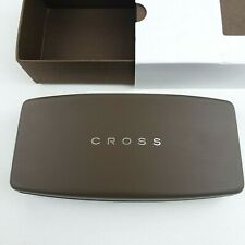 CROSS Black Lacquer Pen Presentation Clamshell Hard Box / Case Only