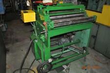 New listing 30″ x .065″ Rowe Straightener .010 – .065 Capacity 7 Roll Straightner St-30