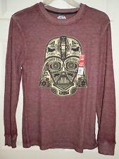 New Mens Small 34-36 Star Wars Darth Vader Dark Side Thermal Shirt Top Fifth Sun