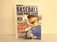 2017 Beckett 39th Edition Baseball Card Price Guide Book