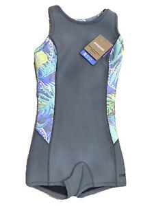 Patagonia Women R1 Lite Yulex Spring Jane Wetsuit Jurassic Fern Forest 2 $129