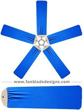 Royal Blue Ceiling Fan Blade Covers