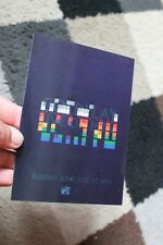 More details for coldplay 'live on mtv' holographic promo postcard 15x10cm rare 2005 parlophone
