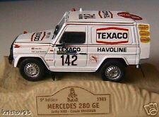 MERCEDES 280 GE ICKX BRASSEUR RALLYE PARIS DAKAR 1983