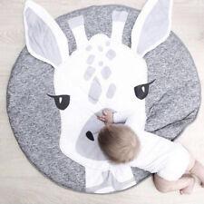 PT_ Cn _ Bambini Cartone Giraffa Testa da Gioco Tappetino Bambino a Gattoni Co