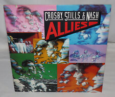 CROSBY STILLS & NASH Allies LP 1983 EX Mastered by Capitol