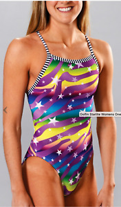 Size 32 Dolfin Uglies Swimsuit Womens New w/tags 9502L Starlite 616 $46