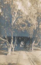 Highgrove CA area * Dirt Road RPPC  1908 * Riverside Co. Ed Jordan 513 Vine St.