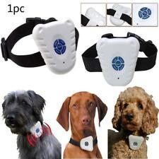 Ultrasonic Pet Dog Training Shock Control Collar Anti Bark No Stop Barking Hot