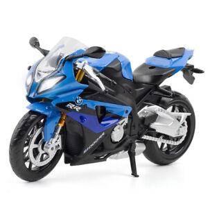 1:12 BMW S1000RR Motorcycle Model Diecast Toy Sound & Light Motorbike Boys Gift