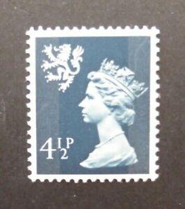 Great Britain 1974 Regional Machin 4 1/2 p. (MNH) Scotland